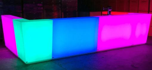 LED Möbel, Theke
