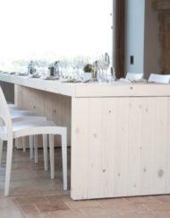 Bauholztisch mitene kassel